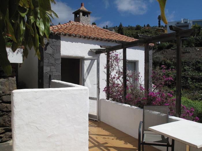 Casa Holger - Eingang von der Terrasse