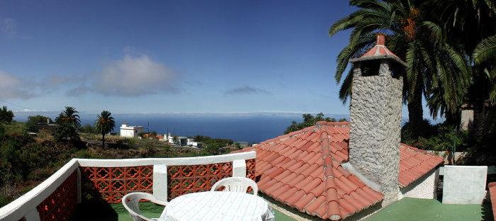Casa Holger, Blick von der Dachterrasse