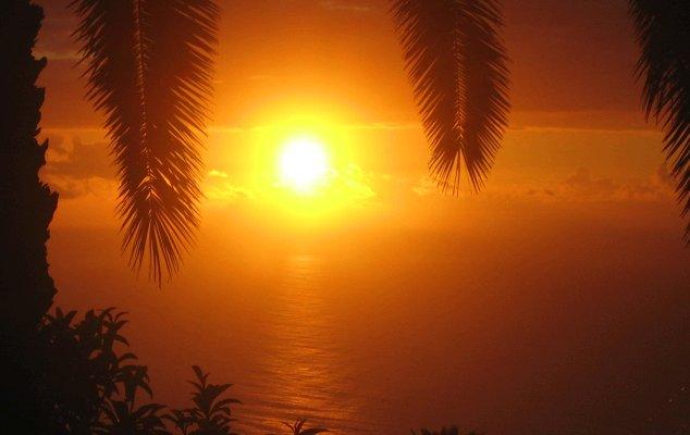 Sonnenuntergang Casa Holger La Palma