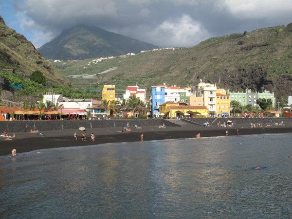 La Palma - am Strand